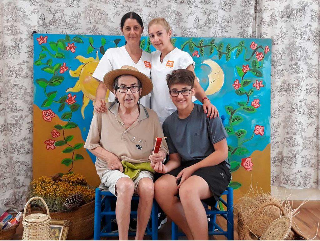 dia abuelos visitas